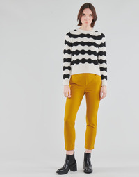 Abbigliamento Donna Chino Only ONLGLOWING Giallo