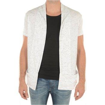 Abbigliamento Uomo Gilet / Cardigan Goldenim Paris Cardigans 1461 - Uomo bianco