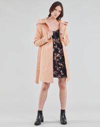 Abbigliamento Donna Cappotti Vero Moda VMCALALYON HOOD 3/4 JACKET GA Rosa