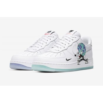 Scarpe Sneakers basse Nike Air Force 1 Earth Day White