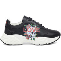 Scarpe Donna Sneakers basse Ed Hardy - Insert runner-love black/white Nero