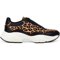 Scarpe Donna Sneakers basse Ed Hardy - Insert runner-wild black/leopard Nero