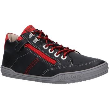 Scarpe Bambino Sneakers alte Kickers 830100 JOULA Negro