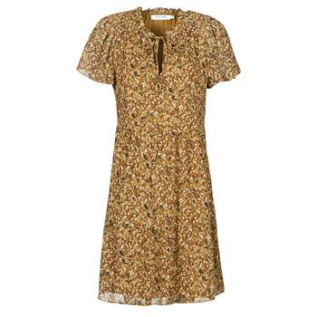 Abbigliamento Donna Abiti corti Naf Naf MARIA R1 Camel