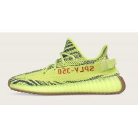 Scarpe Sneakers basse adidas Originals Yeezy Boost 350 V2 Semi Frozen Yellow Semi Frozen Yellow/Raw Steel-Red