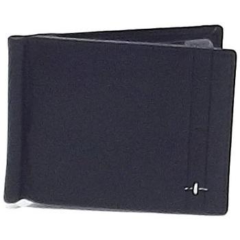 Borse Uomo Portafogli Roncato portafoglio pelle uomo, fermasoldi con portamonete blu