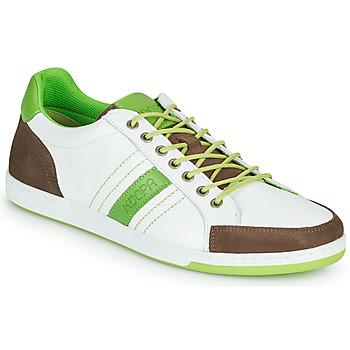 Scarpe Uomo Sneakers basse Kdopa MARIANO Bianco / Verde