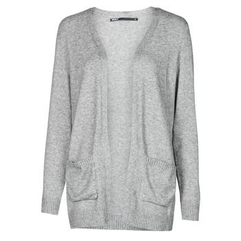Abbigliamento Donna Gilet / Cardigan Only ONLLESLY Grigio