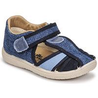 Scarpe Bambino Sandali Citrouille et Compagnie GUNCAL Blu / Jeans