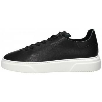 Scarpe Uomo Sneakers basse Stokton Sneaker in pelle Nero Nero