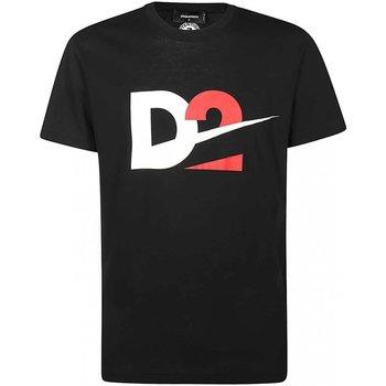 Abbigliamento Uomo T-shirt maniche corte Dsquared maniche corte S74GD0728 - Uomo nero