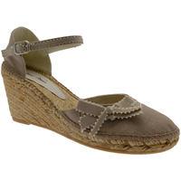 Scarpe Donna Sandali Toni Pons scarpa sandalo corda beige pedra chiuso zeppa art FINA laccetto nero