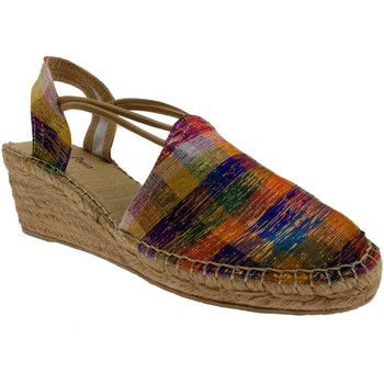 Scarpe Donna Sandali Toni Pons sandalo donna corda multicolor arcobaleno chiuso zeppa art TUDE verde