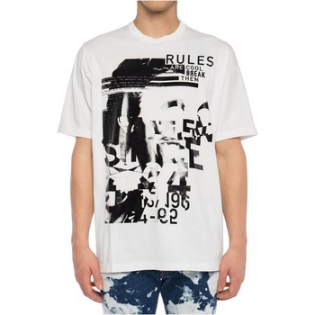 Abbigliamento Uomo T-shirt maniche corte Dsquared maniche corte S74GD0530 - Uomo bianco