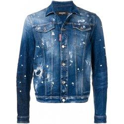 Abbigliamento Uomo Giacche in jeans Dsquared Giubbotti S71AN0052 - Uomo blu