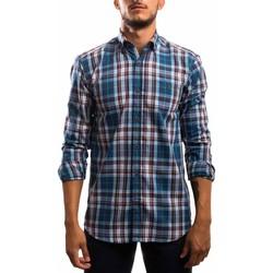 Abbigliamento Uomo Camicie maniche lunghe Klout  Azul