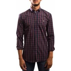 Abbigliamento Uomo Camicie maniche lunghe Klout  Rojo