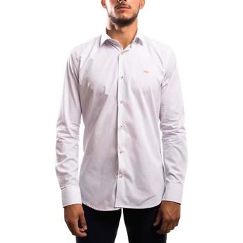 Abbigliamento Uomo Camicie maniche lunghe Klout  Blanco