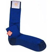 Accessori Uomo Calzini Red 64918G BLUE Calze Uomo Accessori Bluette Bluette