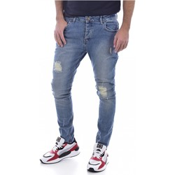 Abbigliamento Uomo Jeans slim Goldenim Paris slim / skinny 111 - Uomo blu