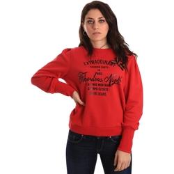 Abbigliamento Donna Felpe Gaudi' ATRMPN-23648 Rosso