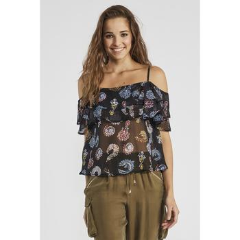 Abbigliamento Donna Top / Blusa Gaudi' ATRMPN-23649 Nero