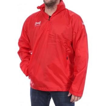 Abbigliamento Uomo giacca a vento Hungaria H-15TMUXW000 Rosso