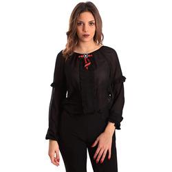 Abbigliamento Donna Camicie Gaudi' ATRMPN-23657 Nero