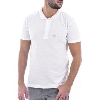 Abbigliamento Uomo Polo maniche corte Goldenim Paris Polo 1180 - Uomo bianco