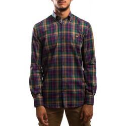 Abbigliamento Uomo Camicie maniche lunghe Klout  Verde
