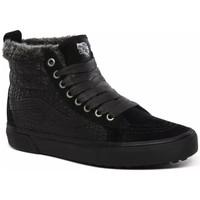 Scarpe Donna Sneakers alte Vans Sk8-HI Mte Noir VN04BV72UM1 Nero