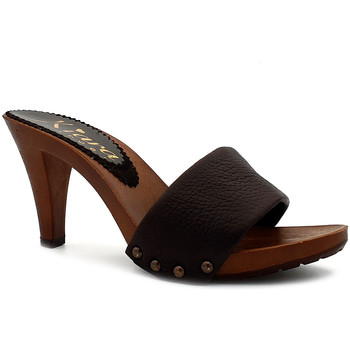 Scarpe Donna Ciabatte Kiara Shoes K6308 Marrone