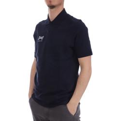 Abbigliamento Uomo Polo maniche corte Hungaria H-16TOMYD000 Blu