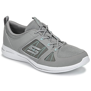 Scarpe Donna Fitness / Training Skechers CITY PRO - WITHOUT A CARE Grigio