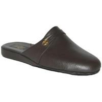 Scarpe Uomo Pantofole Falcade CIABATTE DA CAMERA  - 162 TESTA DI MORO Marrone