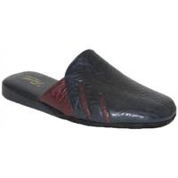 Scarpe Uomo Pantofole Falcade CIABATTE DA CAMERA  - 404 BLU Blu