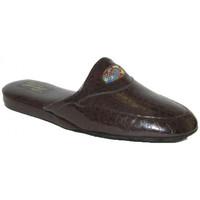 Scarpe Uomo Pantofole Falcade CIABATTE DA CAMERA  - 516 T MORO Marrone