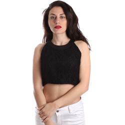 Abbigliamento Donna Top / Blusa Fracomina FR19SP689 Nero