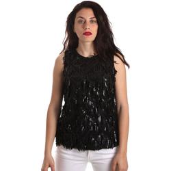 Abbigliamento Donna Top / Blusa Fracomina FR19SP533 Nero