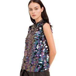 Abbigliamento Donna Top / Blusa Fracomina FR19FP508 Nero