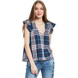 Abbigliamento Donna Top / Blusa Gaudi 011BD45007 Blu