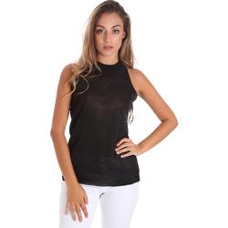 Abbigliamento Donna Top / Blusa Fracomina FR20SM812 Nero
