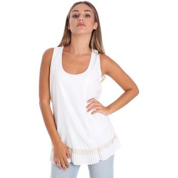 Abbigliamento Donna Top / Blusa Fracomina FR20SM014 Bianco