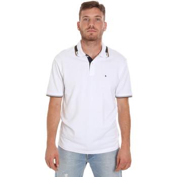 Abbigliamento Uomo Polo maniche corte Les Copains 9U9021 Bianco