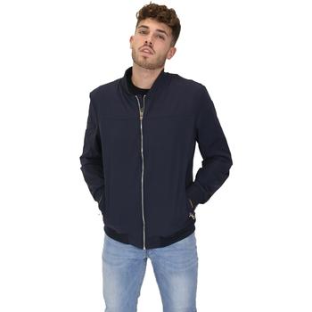 Abbigliamento Uomo Giubbotti Les Copains 9UB081 Blu