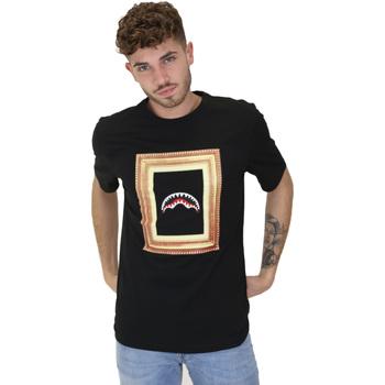 Abbigliamento Uomo T-shirt maniche corte Sprayground 21SFW005 Nero