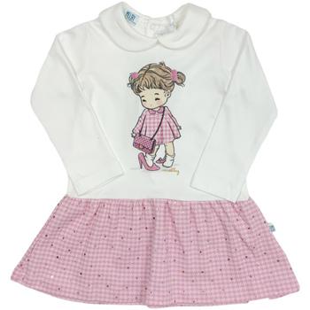 Abbigliamento Bambina Abiti corti Melby 20A0011 Bianco