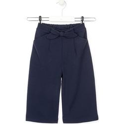 Abbigliamento Bambina Pantaloni morbidi / Pantaloni alla zuava Losan 026-6793AL Blu