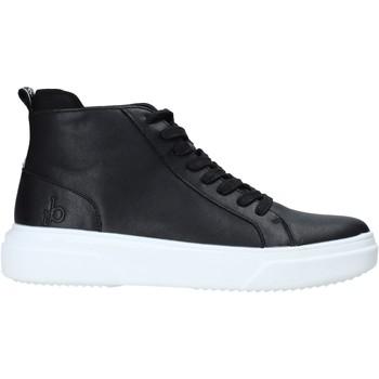 Scarpe Uomo Sneakers alte Rocco Barocco RB-HOWIE-1401 Nero