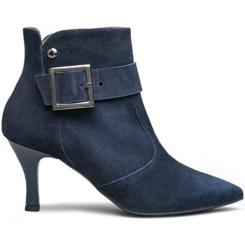 Scarpe Donna Tronchetti NeroGiardini I013483DE Blu